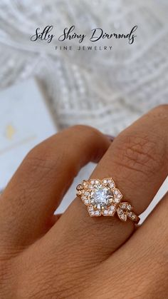 proposal ideas marriage princess love story how to make will you marry me trends gold aurum silver y Deco Engagement Ring, Rose Gold Engagement Ring, Vintage Engagement Rings, Morganite Engagement, Gold Diamond Wedding Band, Gold Bands, Ring Verlobung, Gold Ring, Bridal Rings
