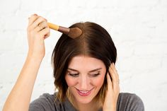 Should darker-haired ladies even *try* to DIY dry shampoo? The results may surprise you!