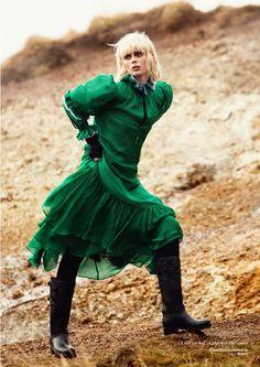 Коко Роша в Glamour Iceland