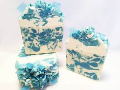 Seaside Rendezvous Artisan Soap/Handmade Soap/Seaside Fragrance/Organic Coconut Cream and Silk/Triple Butter and Silk