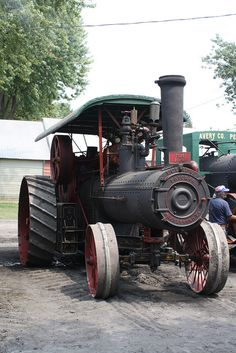 Frick Eclipse Steam Traction Engine, built in Waynesboro, PA