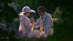 Mia Farrow y Robert Redford en The Great Gatsby, 1974. El vestuario de Theoni V. Aldredge se convirtió en un icono de los años 20.