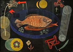 Around the Fish, 1926 by Paul Klee. Recommended by Andrea Beaty, author of Artist Ted.