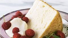 Classic Angel Food Cake - Martha Stewart Plan ahead: Allow at least two days for the elderflower syrup to sit at room temperature before starting the cake.