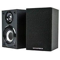 Premium Home Theater Satellite #Speaker (Pair) - Black