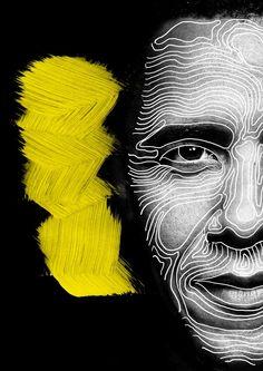 Masquerade by caroline grohs, via behance art art, illustrat Graphic Design Illustration, Graphic Art, Illustration Art, Pop Art, Draw On Photos, Identity Art, A Level Art, Human Art, Arte Pop
