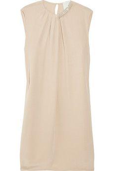 bead embellished silk crepe de chine dress ++ 3.1 phillip lim