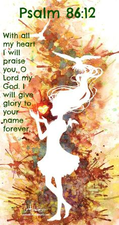 Psalm 86:12