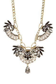 Luxe Feather Trio Pendant Necklace by t+j Designs on @HauteLook