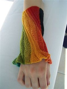 Just make a whole jacket like this and it will be from Joseph and the Technicolor Dream Coat!