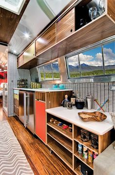 Western Pacific Airstream by Timeless Travel Trailers-Kitchen3