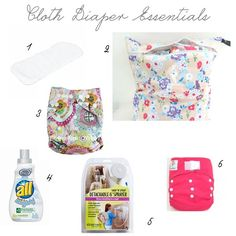 Erin's Diary: Cloth Diaper Essentials