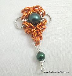 DIY Romanov and Triple-Point Unit Chain Maille Tutorial jump rings: http://www.ecrafty.com/c-201-jump-rings-split-rings.aspx