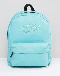 59b0cb7588 Vans Realm Backpack In Pool Blue