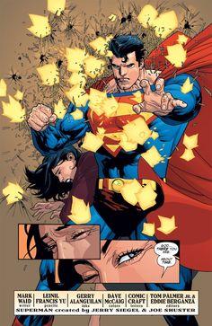 Superman by Leinil Francis Yu
