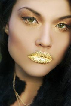 ~Graftobian Spirit Gum, Gold Makeup Fun~