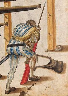 Этнографический Arms & Armour - Железный шомпол в XV веке