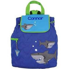 Shark Backpack toddler preschool kids FREE Personalization by MultipleMonograms Camouflage, New Baby Presents, Boys Backpacks, Quilted Backpacks, Toddler Backpack, Hai, Quilted Bag, Toddler Preschool, Toddler Fun