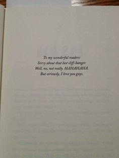 This Is The Best Book Dedication Ever - thank you Rick Riordan! House of Hades book dedication!!!!! BuzzFeed Mobile