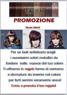 New capelli Colori Metallici - Centro estetico Roma - Dimensione Bellezza