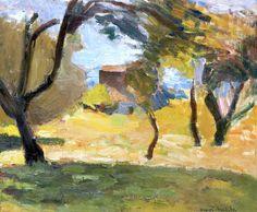 Henri Matisse (1869-1954) Paysage de Corse