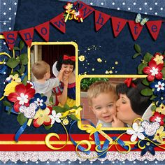Snow White - MouseScrappers - Disney Scrapbooking Gallery