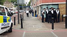 Police detain someone under the Mental Heath Act after he shouts abusive and threatening language at Jewish passers-by