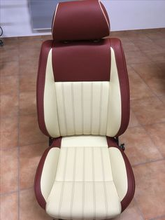 Car Seat Upholstery, Car Interior Upholstery, Automotive Upholstery, Couture Cuir, Leather Car Seat Covers, Car Chair, Pt Cruiser, Reupholster Furniture, Truck Interior