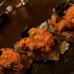 Tuna Crispy Rice at Kuro.  Click Visit and take a look at our review.