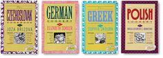 International Cookbooks $9.95