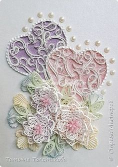 Image gallery – page 154670568438846491 – artofit Paper Quilling Patterns, Quilling Paper Craft, Paper Crafts, Quilling Ideas, Quilling Work, Quilling Flowers, Quiling Paper Art, Tattered Lace Cards, Origami