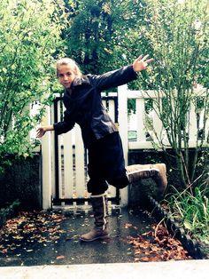 Moi - sous la pluie