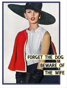 Funny pictures, gifs, videos and memes retro humor, vintage humor, retro funny Retro Humor, Vintage Humor, Retro Funny, Funny Vintage, Vintage Ladies, Housewife Humor, Marriage Humor, Sarcastic Quotes, Wise Quotes