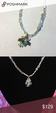 Aquamarine Necklace! Aquamarine Necklace! Length is 60 cm. Bundle & Save with my Discount! Jewelry Necklaces