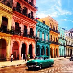 Havana, Cuba >> I would love to go here and photograph the people and the colors!: