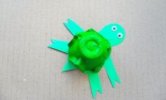 Egg Carton Turtle - Art And Craft - Kids Activities And Games
