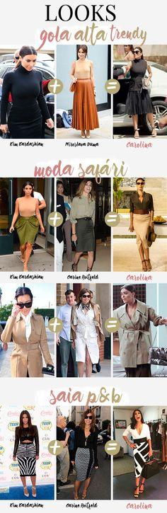As musas (bem além da Kim!) por trás dos looks da Carolina em Totalmente Demais!