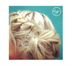 A few minutes and 5 bobby pins in the right hands can make all your #pinterest dreams come true. This #OnTrend #BraidedBun by Sam and colour by @jessicavielstylist! #HairbyHype #HypeVancouver #Hairspiration #Hairgoals #WeLoveYourHair #Vancouver #VancouverSalon #Updo #Style #HairBrained #ILovemyJob