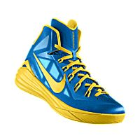 timeless design 90172 283f6 I designed the photo blue Nike Hyperdunk 2014 iD men s basketball shoe with  tour yellow trim