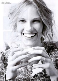 Hilary Swank. So incredibly talented.