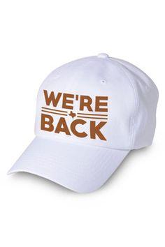 We re Back Cap. Longhorns FootballTexas ... 5cd2faddb4c2