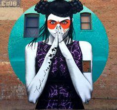 The Dreamer LDN — New mural in Arizona by finbarr dac