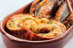 Lagosta D'Carmen, um dos pratos do menu do restaurante espanhol Don Curro (Foto: Divulgação)