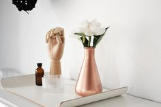 copper vase DIY