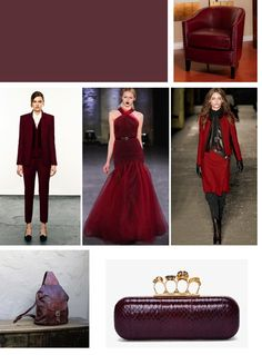 Loving this #oxblood #fashion