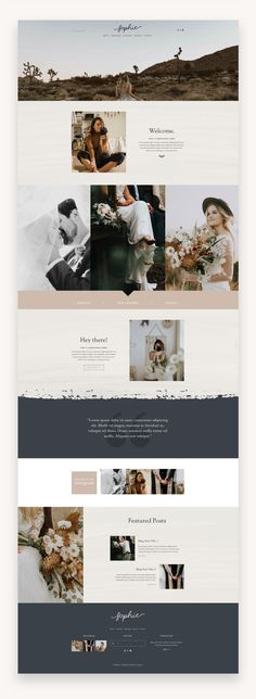 Sophie Squarespace Template The Sophie Squarespace Template Kit is a rustic and romantic website kit with a classic layout. It has been designed with photographers, designers, or other creative business types in mind. #WebDesign #Diseñoweb #Squarespace #SquarespaceTemplate #TemplateKit #FeminineSquarespace #PhotographyTemplate #TemplateKit #Photographer #Portofolio