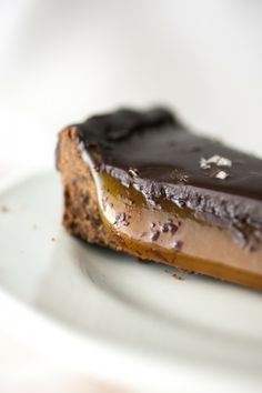 Produce On Parade - Salted Caramel Chocolate Tart