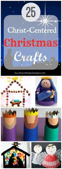 25 Christ-Centered Christmas Crafts for Kids