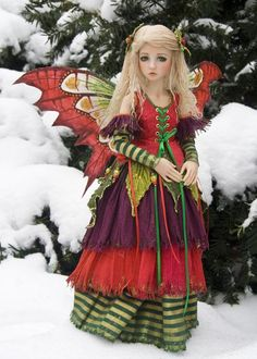 Holly and the Elves - Favourite Photos 2012 - Antique Lilac- This would be the cutest Halloween Costume for a little girl!