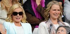 Katherine Jenkins at Wimbledon
